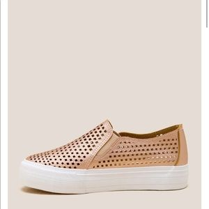 Restricted Shoes - Restricted | Perforated Slip On Sneaker Size 10